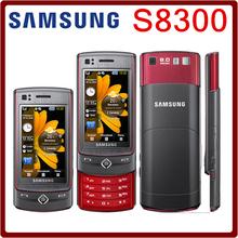S8300 Original Unlocked Samsung S8300 GPS 8MP 2.8 Inch`` 3G GPS Mobile Phone No Russian langauge Free Shipping(China (Mainland))
