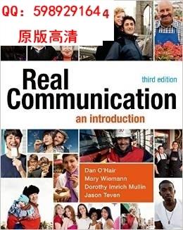 Real Communication An Introduction with Mass Communication--(China (Mainland))
