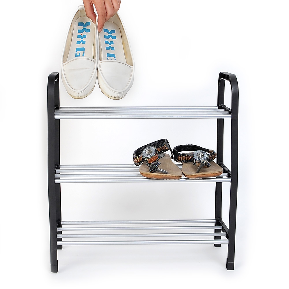 Easy Assembled 3 Tier Shoe Rack Shelf Storage Organizer Stand Holder Keep Room Neat Home Door Space Saving(China (Mainland))