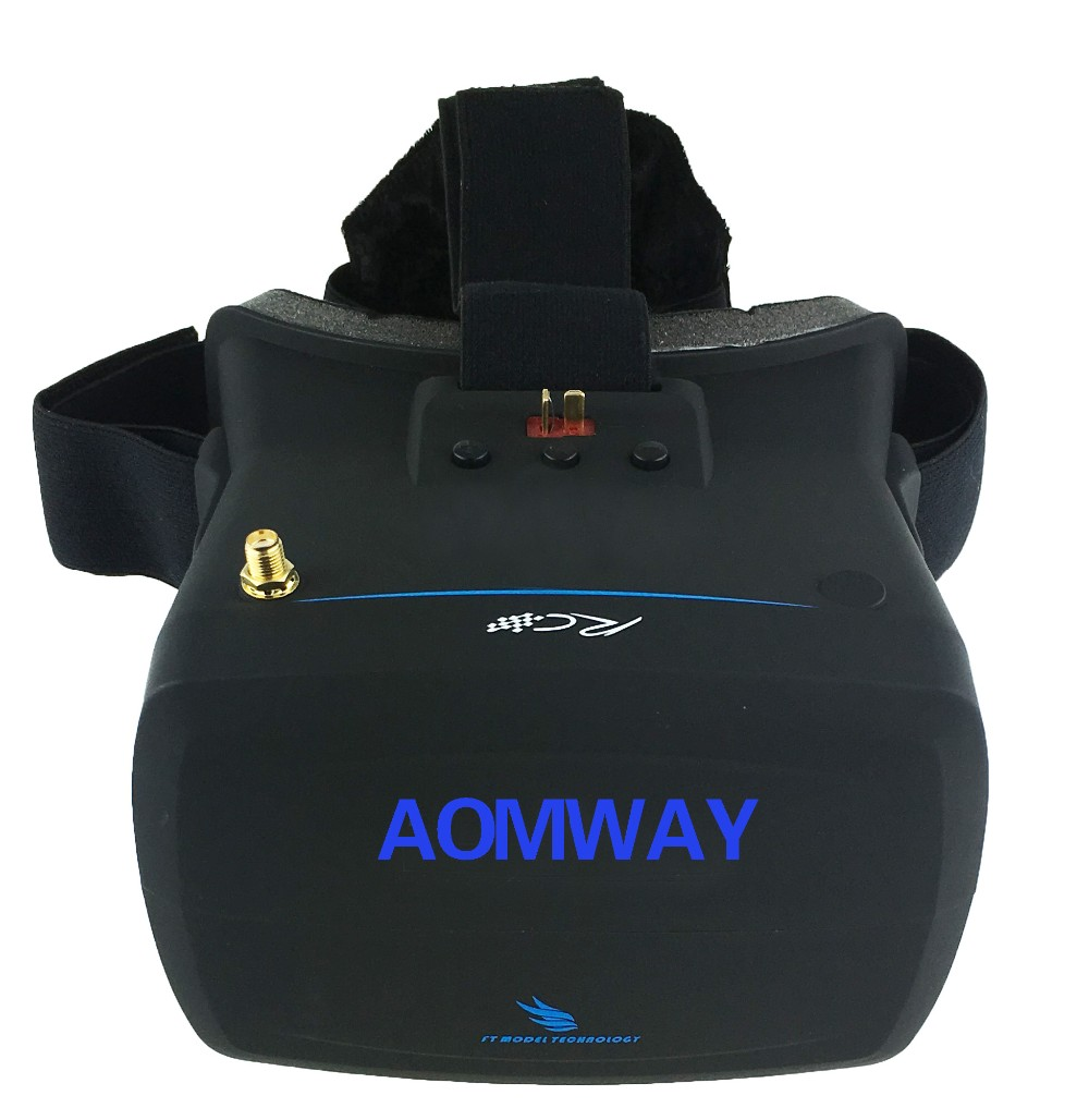 New Arrival Aomway VR Goggles V1 5.8G 40CH 800×480 5 Inch FPV Video Glasses Headset For Camera Drone Accessories