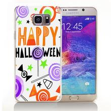 HALLOWEEN_CANDIES_CARD_01 Hard Transparent Cover Case for Samsung A3 A5 A7 A8 Note 2 3 4 5(China (Mainland))