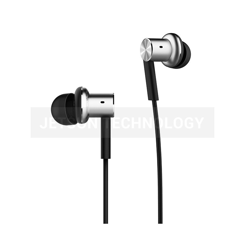 100% Original Xiaomi mi Hybrid Dual Drivers Earphone in ear Wired Control Microphone Dynamic and two balanced-armature drivers