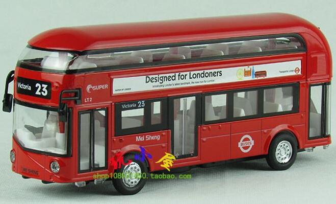 acousto optique r tro imp riale de londres bus jouet v hicules brinquedos enfants jouets pour. Black Bedroom Furniture Sets. Home Design Ideas