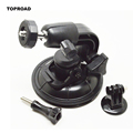 9cm Diameter Base Car Suction Cup Mount With Tripod Adapter and Screws 360 Degree Rotation For