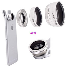 Fisheye Macro Wide Angle Lens for Huawei p6 p7 p8 lite honor 6 7