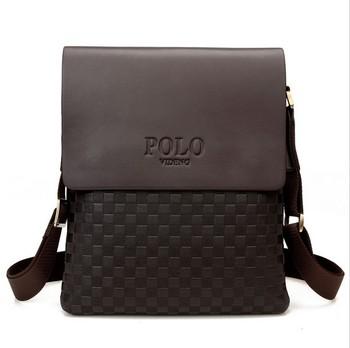 Новая коллекция 2015 мода мужчины сумки, мужчины свободного покроя кожа сумка, высокое качество человек бренд деловая сумка мужская сумка