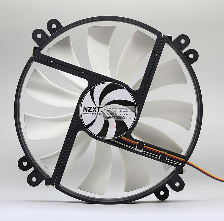 NZXT Phantom computer case fan 20CM 200mm fan 12V 0.42A silent fan 20 cm(China (Mainland))