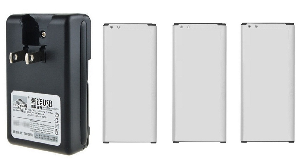 3x 1860mah OEM EB BG850BBC Battery Charger For Samsung Galaxy Alpha G850 G850F G850T G850M G850Y