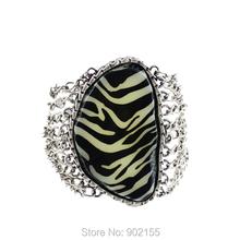 2014 fashion design vintage style with big rhinestone charm bracelets(China (Mainland))