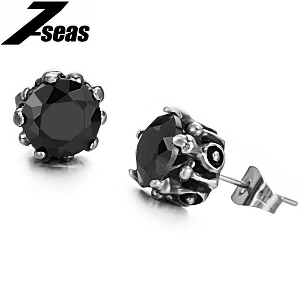 Fashion Crystal Ball Woman's Stud Earring 316L Stainless Steel Women Jewelry Earring Accessories Best Friendship Gift,JM227E(China (Mainland))