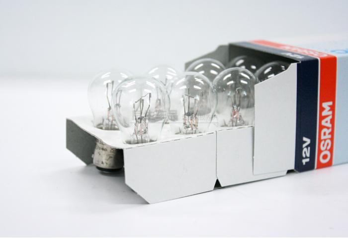 Free shipping fee 10pcs/lot Osram Brake lights 7528 P21/5W 12V 21/5W BAY15D 3200K REAR LIGHTS(China (Mainland))