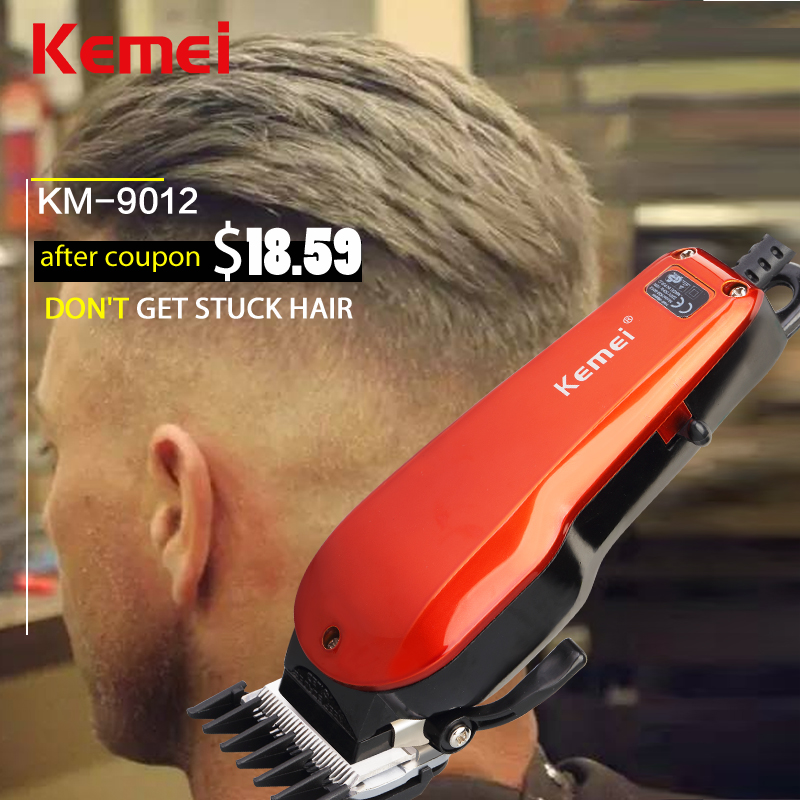electric Barber hairTrimmer Clipper tools machine cut hair child Adult Rechargeable cutting haircut Waterproof Hot sales KM-9012(China (Mainland))