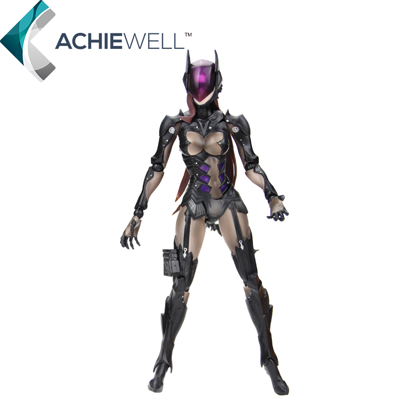 New Play arts Kai Final Fantasy DC Catwoman 27cm Pvc Action Figure Game Collectible Model Plastic Toys For Kid Adult Gift Dolls(China (Mainland))