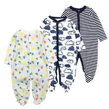 Боди с отложным воротником и длинными рукавами, одежда для малышей, зимние комбинезоны для младенцев, комплект одежды для новорожденных мал...(China)