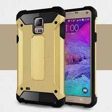 Buy Hybrid Dual Heavy Duty Armor Case Cover Samsung Galaxy Note 4 Note4 IV N9100 N9108 Back Cover Silicone+Plastic Phone Cases for $2.99 in AliExpress store