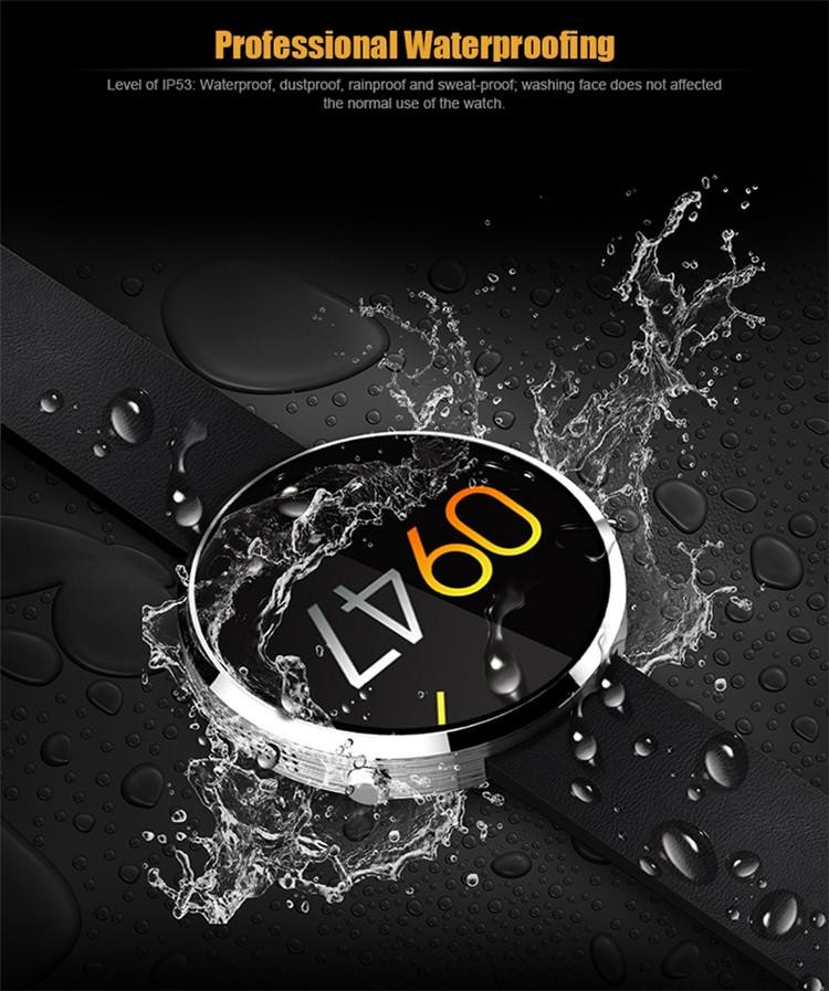 DM360 Heartraten Sports Fitness Tracker Bluetooth 4.0 Mens Smart Watch Fitness tracker for Ios and Android all compatible<br><br>Aliexpress