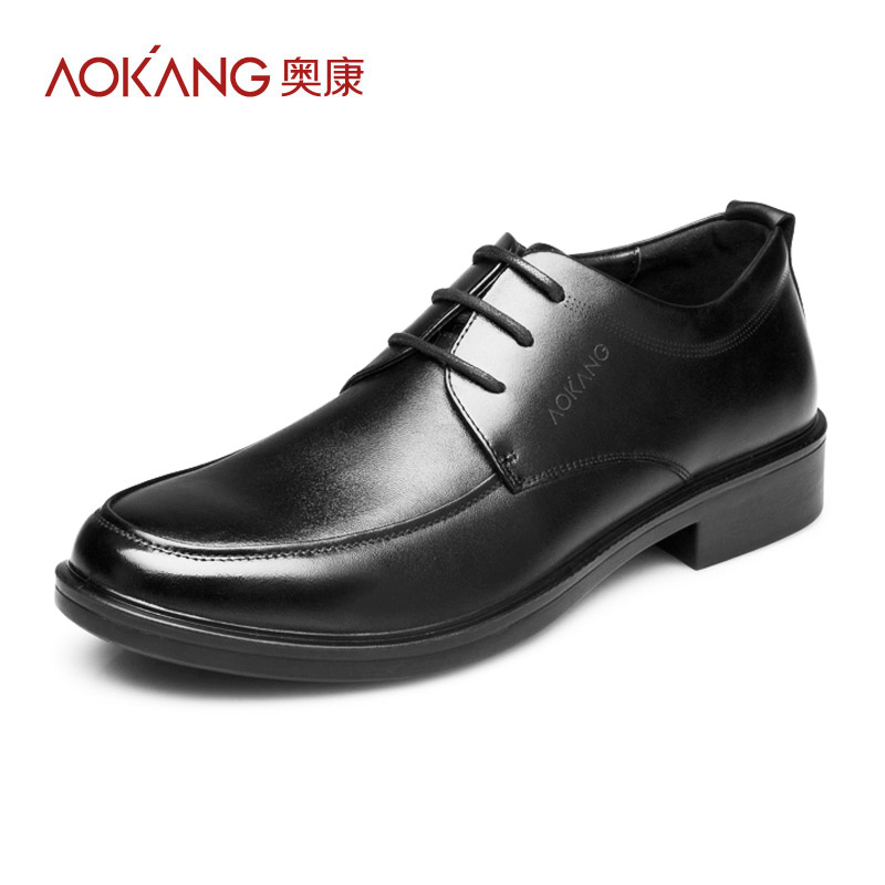 aokang 2014 genuine leather shoes casual shoes formal
