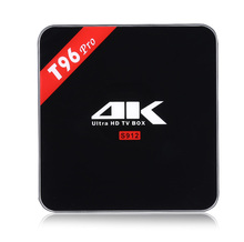 Buy T96 PRO TV Box Amlogic S912 Octa-core Android 6.0 2.4G / 5.0G Dual Band WiFi Bluetooth 4.1 H.265 Decoding Multi-media Player for $69.99 in AliExpress store
