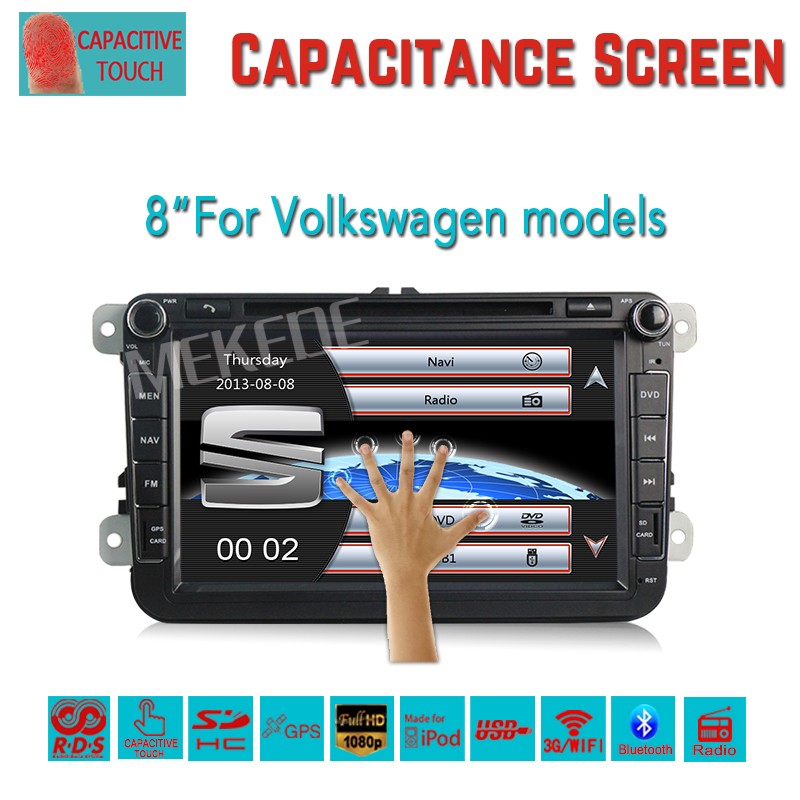 Free shipping Seat/Altea/Leon/Toledo/VW/Skoda Car DVD Player With GPS System,Radio,RDS,Bluetooth,1080P,Wifi 3G Host(China (Mainland))