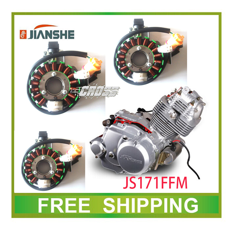 JIANSHE 250cc ATV atv250-3-5  stator magneto coil 16 coils accessories free shipping