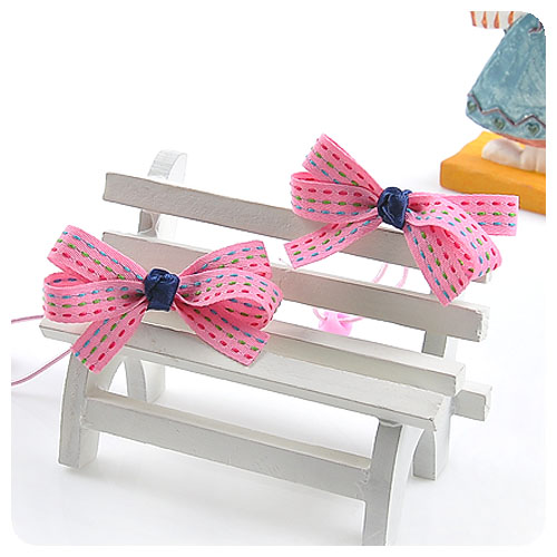 Fashion Baby Girl Hair Accessories Simplely Design Colorful Thread Bow Rubber Bands High Quality Headwear 1103(China (Mainland))