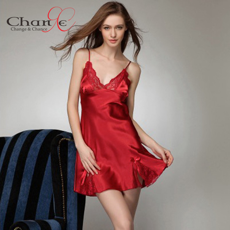 Silk Satin Night Dress – fashion dresses