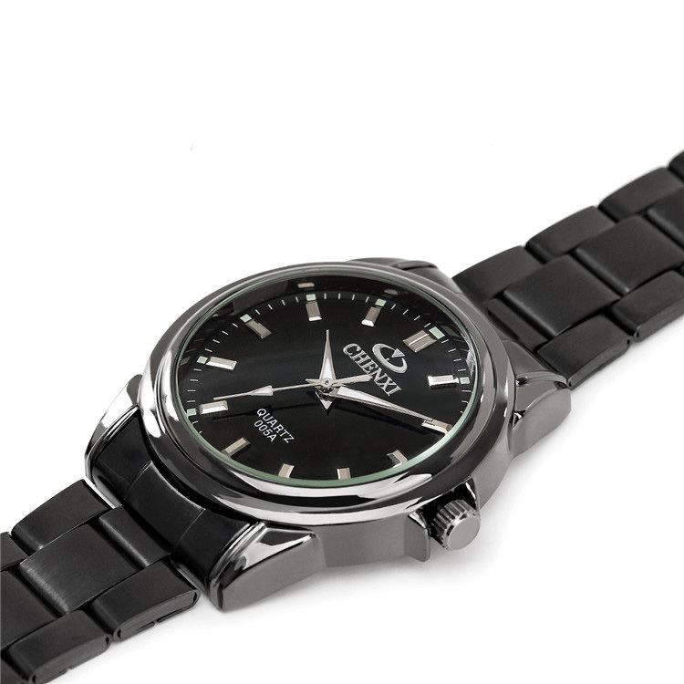 CHENXI Brand Watches Men Watch Fashion Casual Quartz watch Black CX 005A