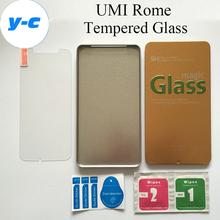 Umi рим закаленное стекло первоначально высокое качество защитная пленка взрыв — доказательство премиум-экран протектор для UMI рим х сотовый телефон