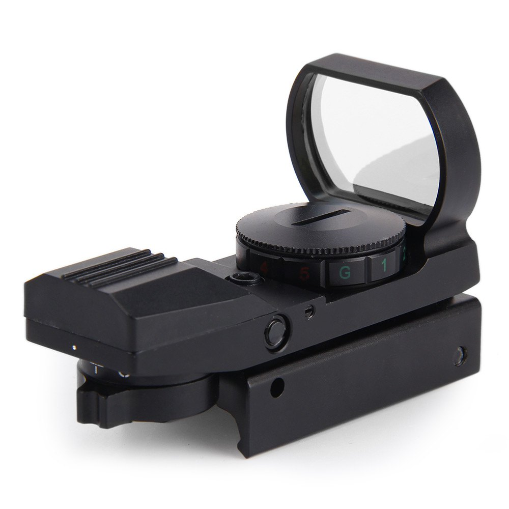2016 Hunting scope Tactical Holographic Reflex Red Green Dot Sight Scope For Airsoft 20mm Rail(China (Mainland))