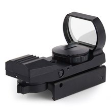 2016 Hunting Riflescope Tactical Holographic Reflex Red Green Dot Sight Scope For RifleAirsoft 20mm Rail(China (Mainland))