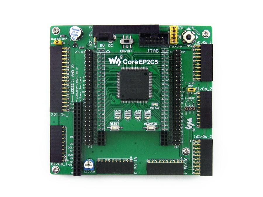 Altera Cyclone Board EP2C5 EP2C5T144C8N ALTERA Cyclone II FPGA Development Board = OpenEP2C5-C Standard(China (Mainland))