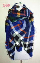 za winter scarf 2015 Tartan Scarf women desigual Plaid Scarf cuadros New Designer Unisex Acrylic Basic Shawls warm bufandas(China (Mainland))