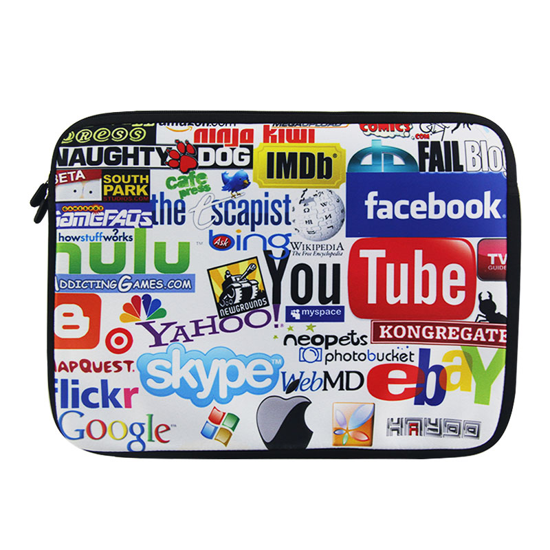 """10"""" Hot Netbook Laptop Sleeve Bag Case Cover Pouch For 10.1"""" ASUS Eee Pad TF10 Tablet PC,i Pad 4 3 2 1 Air pro,Waterproof(China (Mainland))"""