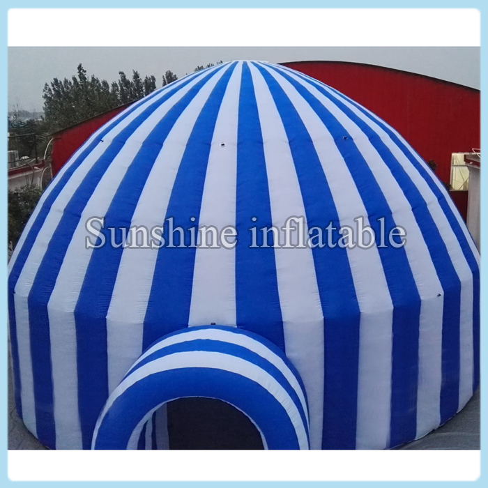 6m Dia large outdoor event advertising inflatable dome tent, inflatable marquee, inflatable canopy with low price(China (Mainland))