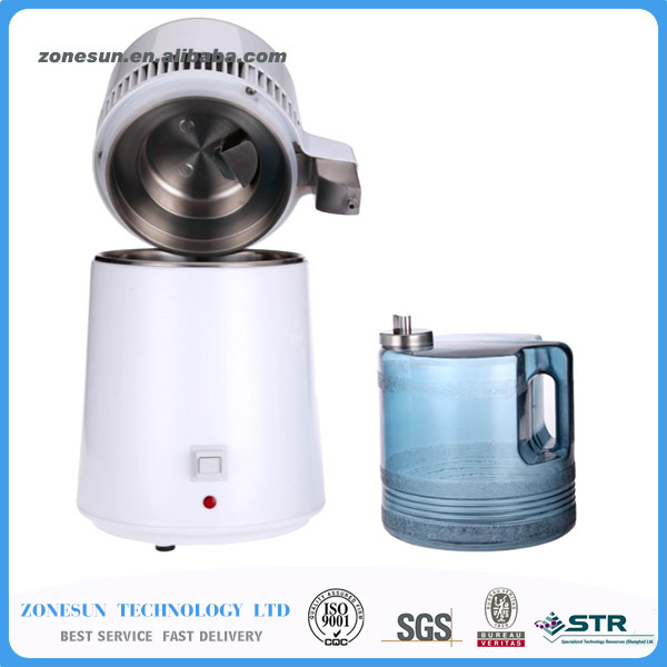 Water distiller,home alcohol distillers,water Purifier,stainless steel,water filter,wholesaler Hot appliances 220V or 110V(China (Mainland))