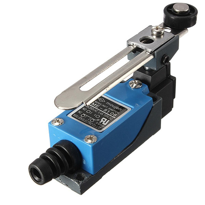 New Arrival Waterproof ME-8108 Momentary 10A 380V AC Roller Arm Type Limit Switch For CNC Mill Laser Plasma Favorable Price(China (Mainland))
