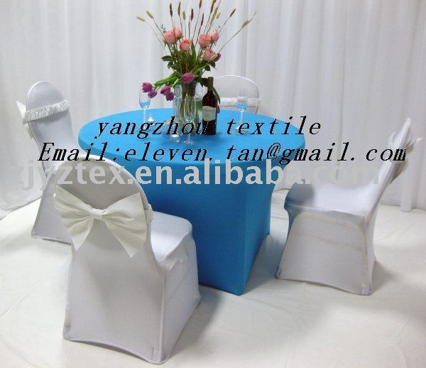 lycra table cloth /lycra chair cover/spandex chair cover