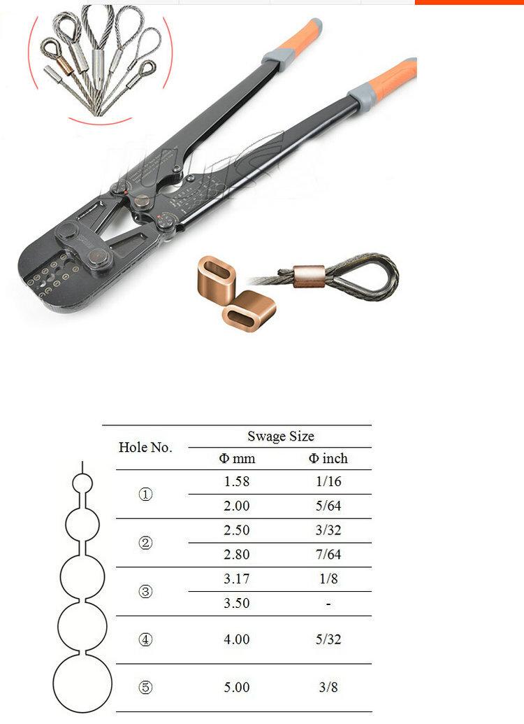 1pc lot presszange ferrule press crimping tool steel wire. Black Bedroom Furniture Sets. Home Design Ideas