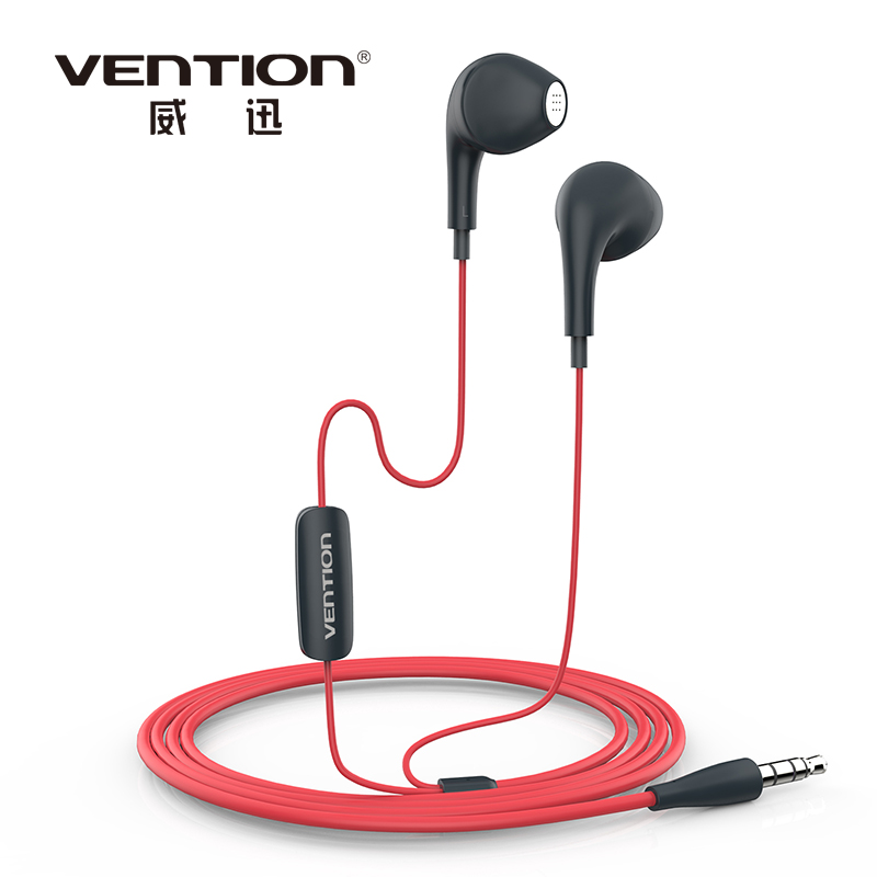 Vention VAE-T03 Dolphin Earphone Headphones Earphone Headphone Headset For XiaoMi Samsung iPhone MP3 MP4 With Remote And MIC(China (Mainland))