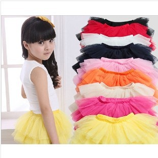 fashion summer girls skirt ball gown princess skirts baby tulle layered tutu Children short party clothes - FOR THE KIDS store