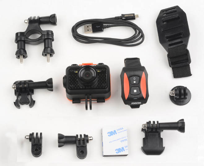 SOOCOO S60B HD Sports Camera Waterproof Wifi 170 Degree Lens
