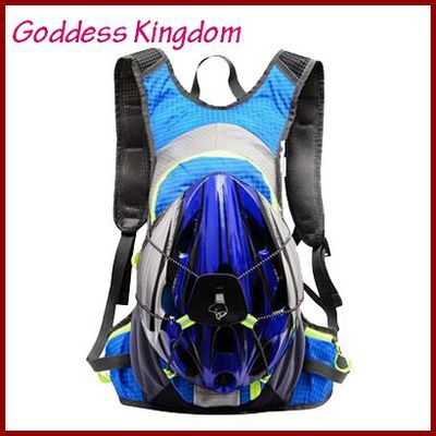 2015 outdoor professional cycling hiking mountain bikes (can be fixed helmet) ultralight road bike riding backpack NL018(China (Mainland))