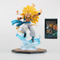 2016 Dragon Ball Z Super Saiyan Gotenks 16CM Anime PVC Action Figure Collection Model Toys
