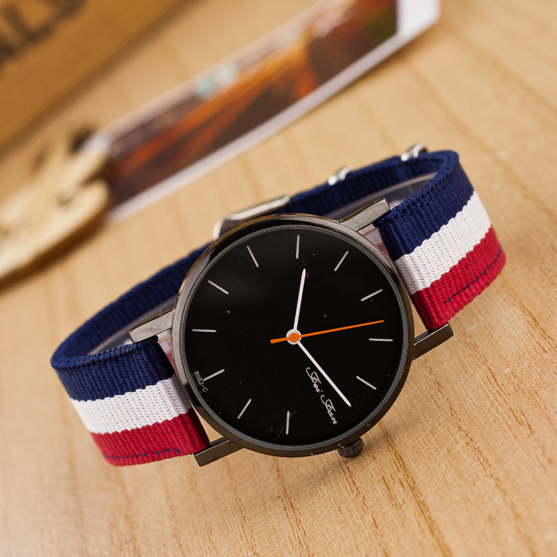 Canvas Strap Watch Canvas Band Quartz Watch