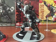Deadpool Action Figures X Force Anime Game Toys X-Men 180cm PVC Deadpool Superhero Collectible Model Toy Merc with a Mouth