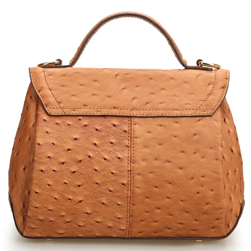 UniCalling brand handbags2014 Star ostrich pattern leather bag with the money of new fashion leather handbags hand bag Messenger(China (Mainland))
