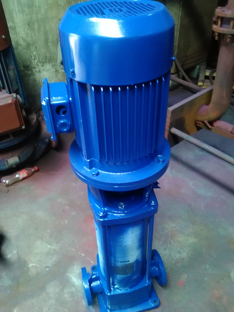 GDL type multi-stage pipeline pump Shanghai fire pump multistage pump 100GDL7214X8 motor 37KW(China (Mainland))