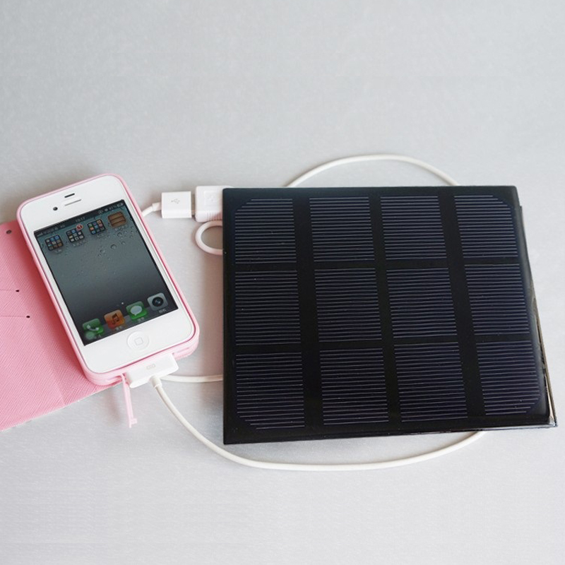 2016 Universal 3W 6V Monocrystalline silicon solar charging panels for mobile phone ipad ipod mp3 outdoor travel camping cycling(China (Mainland))