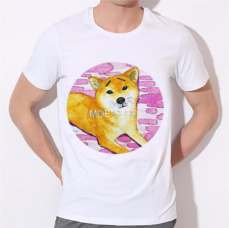 Moe Cerf Dogs Pug Tops Tees Shirt Hot Sale T Shirts Men Game Of Thrones 3D Man T-shirt Star Wars O Neck Mens t shirt B-137#  HTB15Ip4KVXXXXcwapXXq6xXFXXXl
