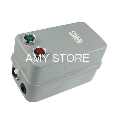 380V Coil AC Contactor 4KW 5.5 Horse Power Three Phase Magnetic Starter 3P 6.8-11A<br><br>Aliexpress